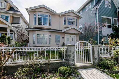 House for sale at 1330 23rd Ave E Vancouver British Columbia - MLS: R2355088