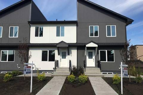 Townhouse for sale at 13304 114 St Nw Edmonton Alberta - MLS: E4161172