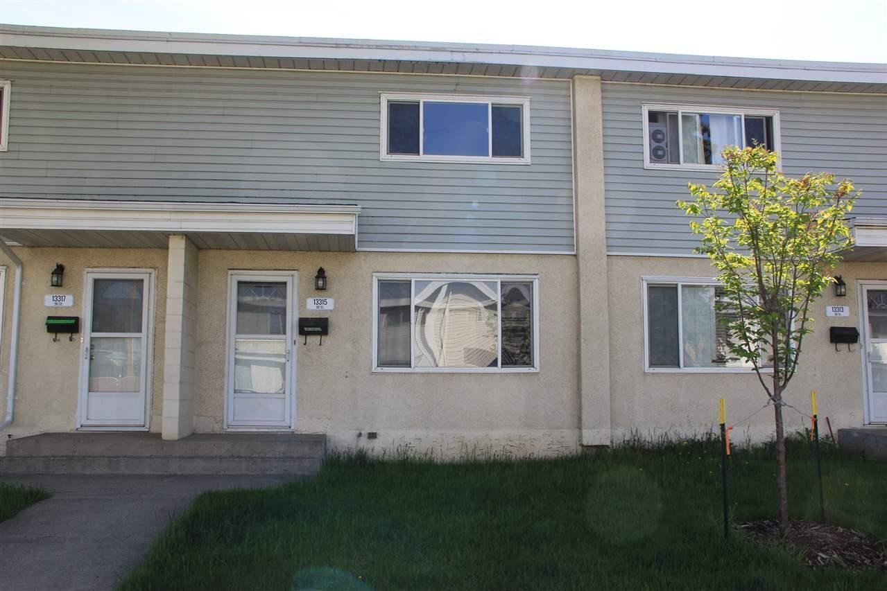 Townhouse for sale at 13315 90 St NW Edmonton Alberta - MLS: E4214448