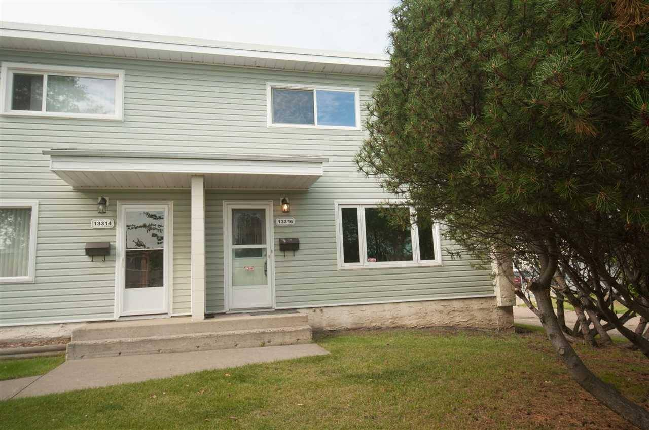Townhouse for sale at 13316 89a St Nw Edmonton Alberta - MLS: E4193390