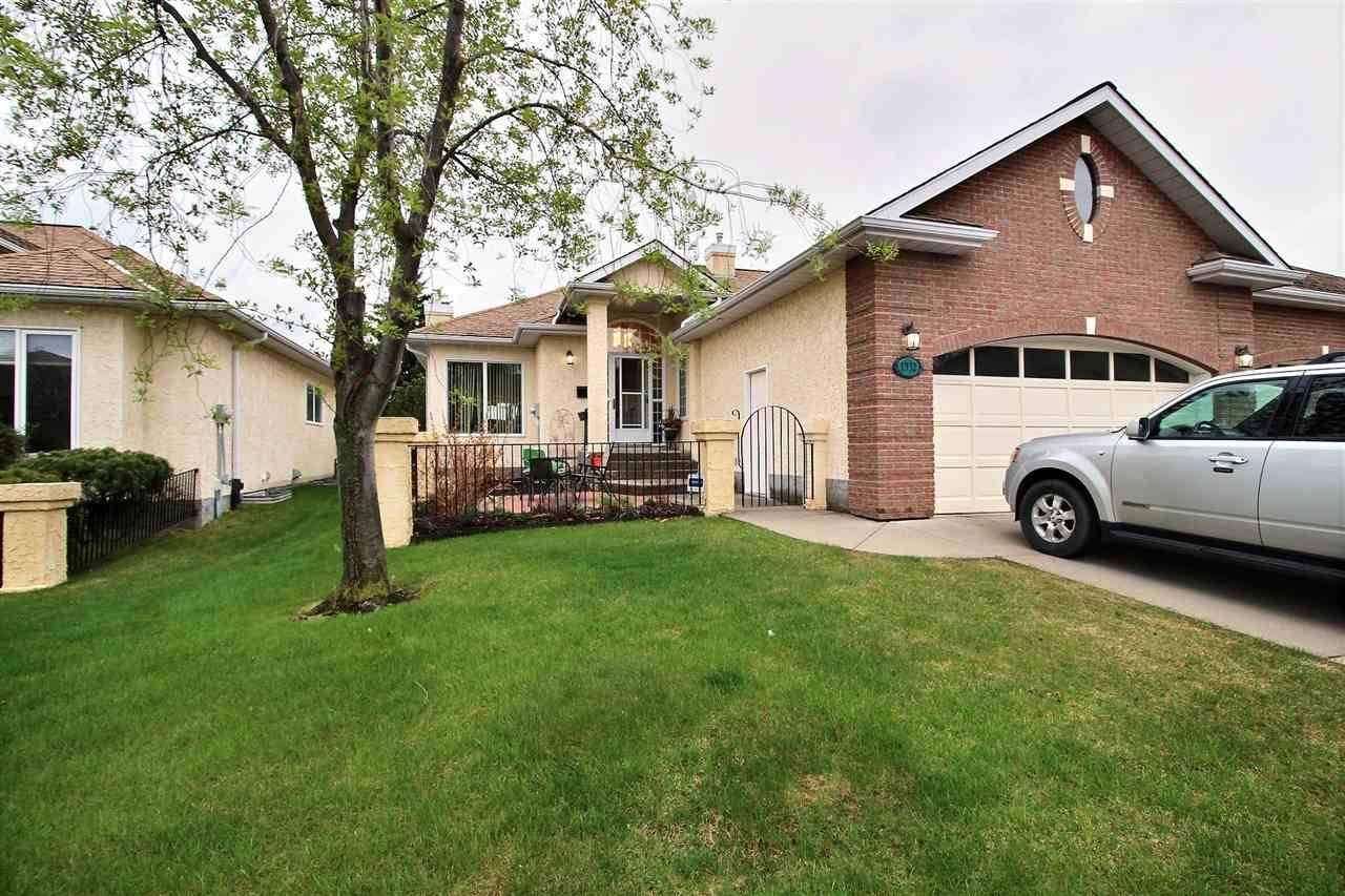 Townhouse for sale at 1332 Potter Greens Dr Nw Edmonton Alberta - MLS: E4171964