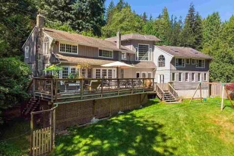 House for sale at 1335 Mount Gardner Rd Bowen Island British Columbia - MLS: R2503596