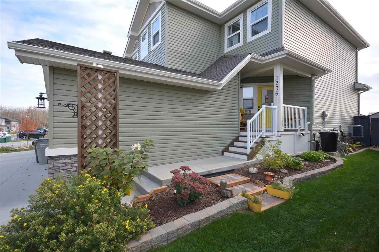 Townhouse for sale at 1336 South Creek Li Stony Plain Alberta - MLS: E4217621