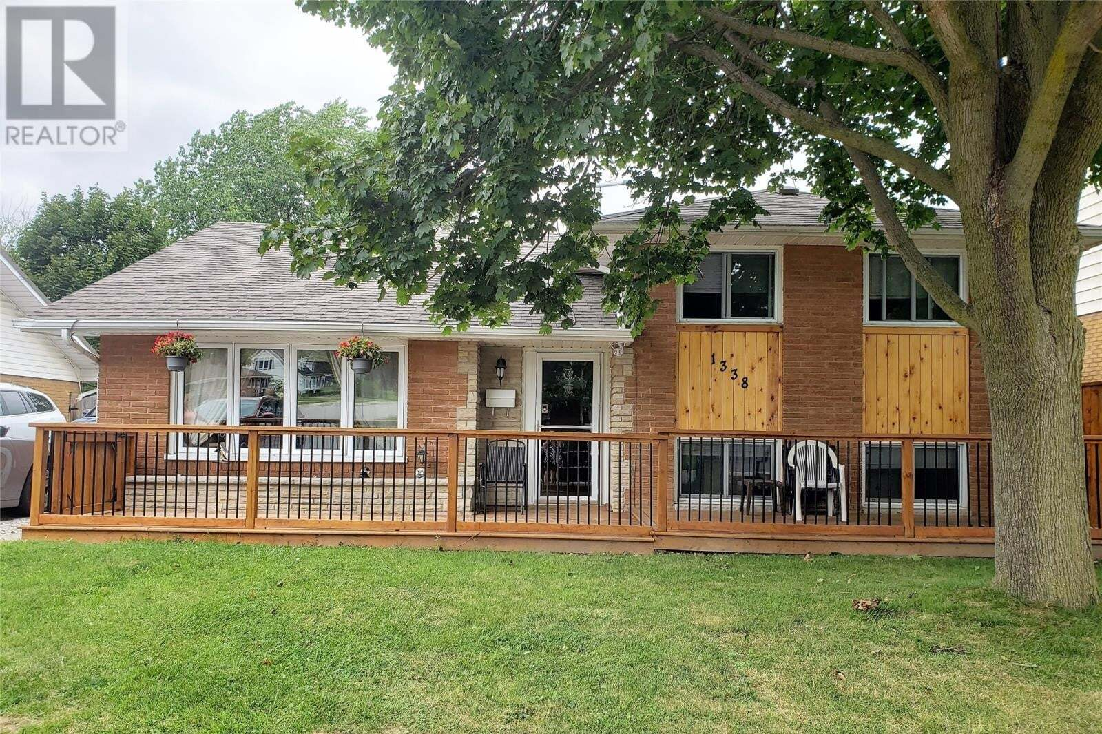 House for sale at 1338 Elgin St Wallaceburg Ontario - MLS: 20010111