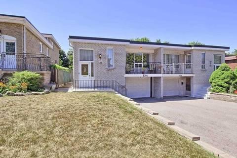 Townhouse for sale at 134 Edmonton Dr Toronto Ontario - MLS: C4554938