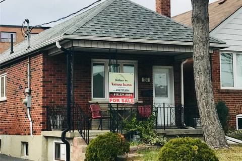 House for sale at 134 Locksley Ave Toronto Ontario - MLS: W4391893