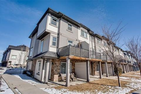Townhouse for sale at 134 New Brighton Landng Southeast Calgary Alberta - MLS: C4290506