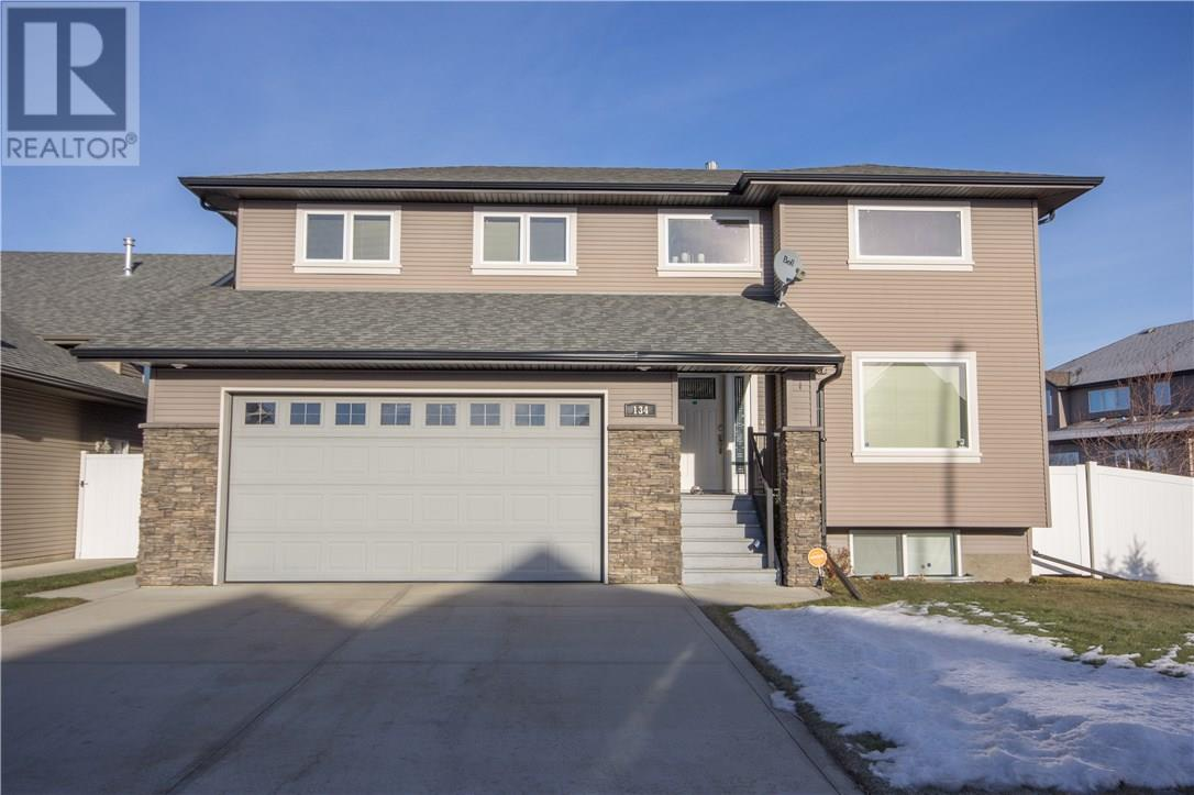 For Sale: 134 Oaklands Crescent, Red Deer, AB | 3 Bed, 4 Bath House for $459,900. See 16 photos!