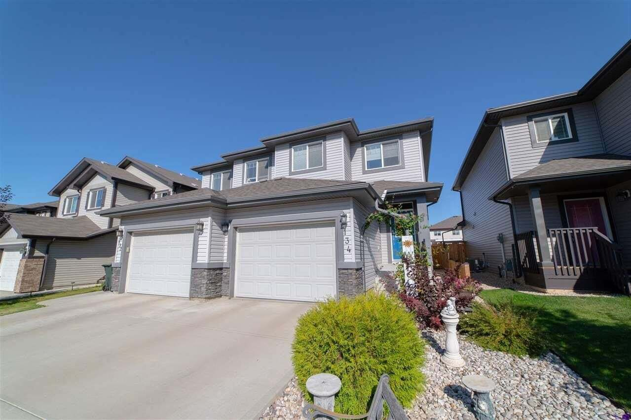 Townhouse for sale at 134 Springwood Wy Spruce Grove Alberta - MLS: E4215458