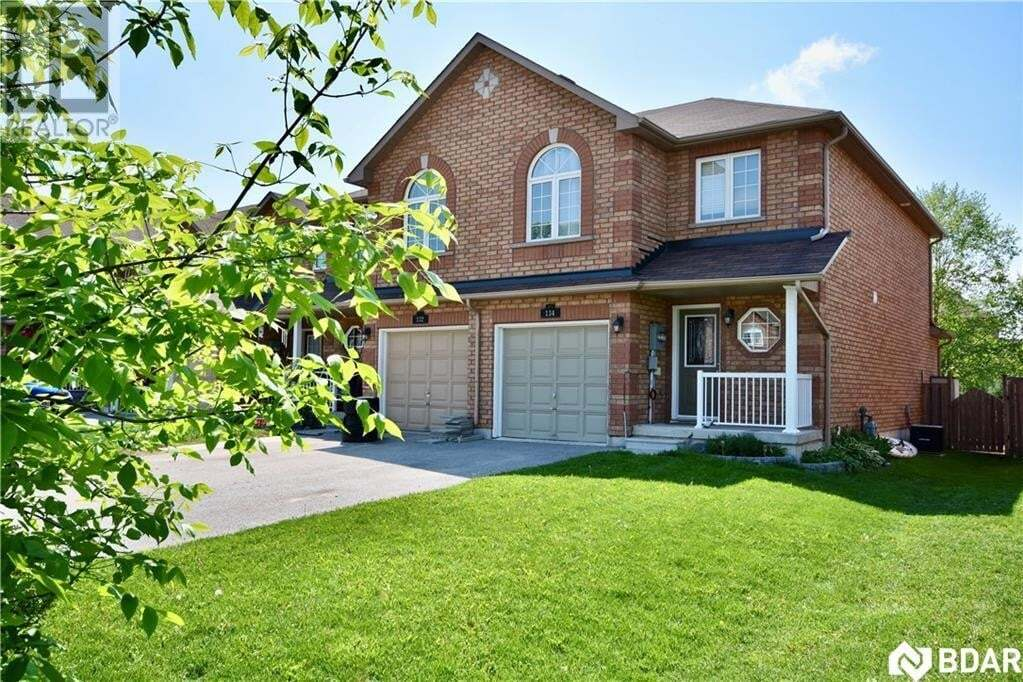 Townhouse for sale at 134 Sydenham  Barrie Ontario - MLS: 30810960