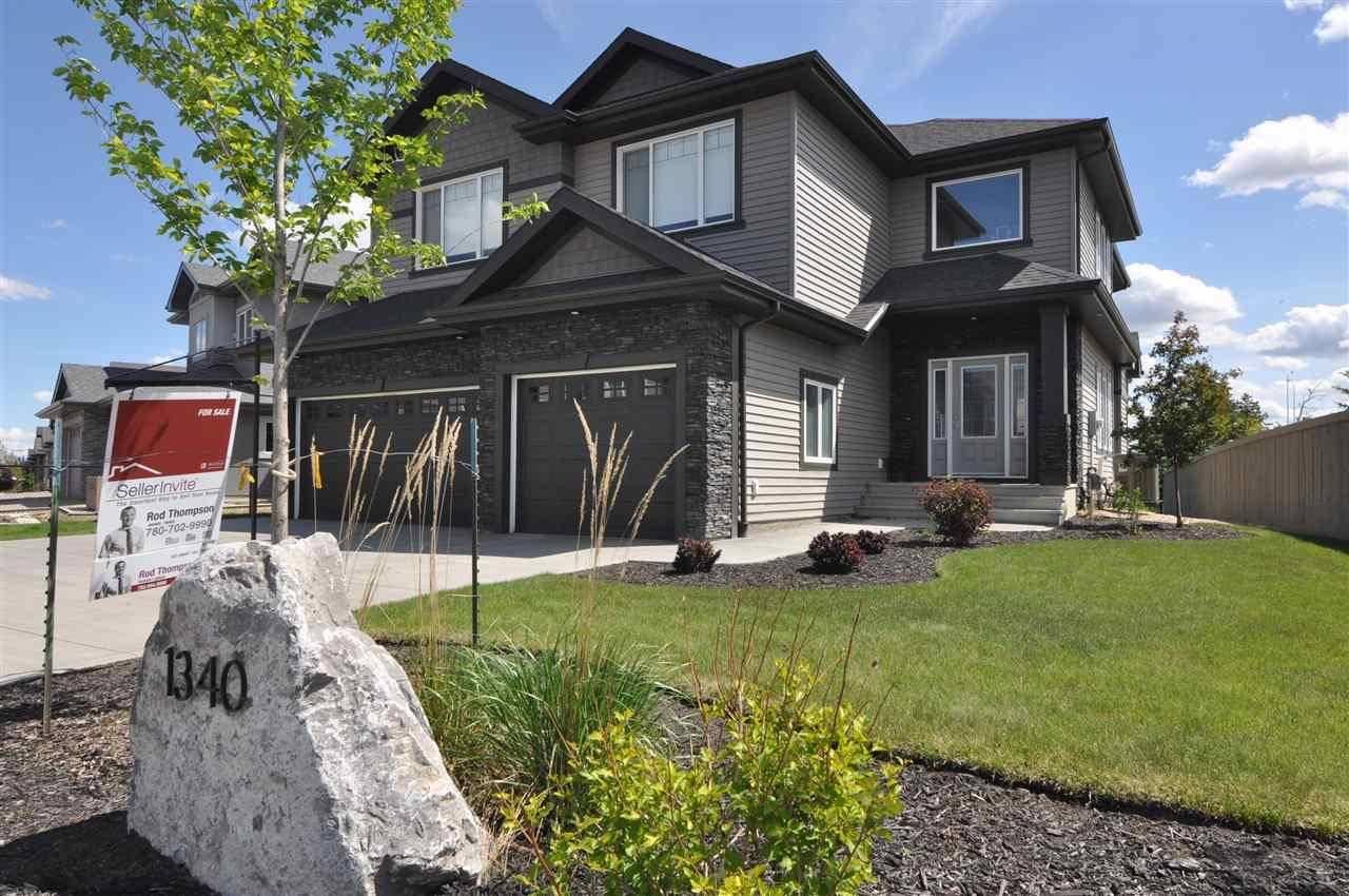 House for sale at 1340 Adamson Dr Sw Edmonton Alberta - MLS: E4159033