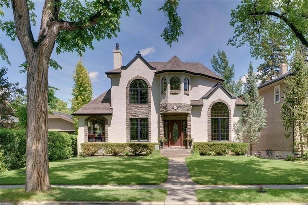 House for sale at 1340 Frontenac Av SW Upper Mount Royal, Calgary Alberta - MLS: C4305335