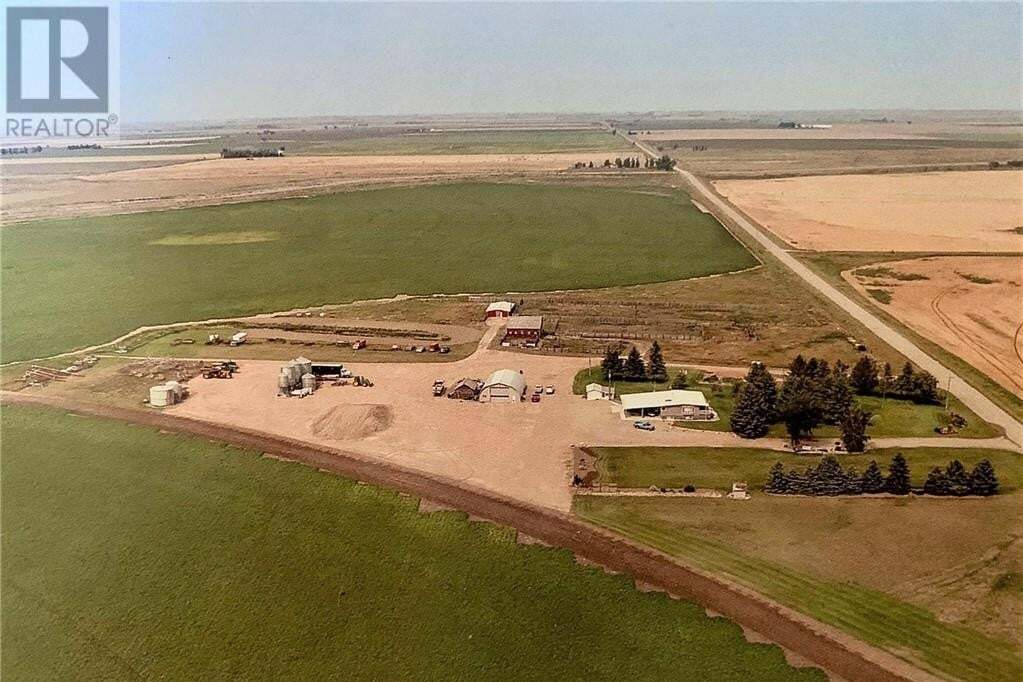 Home for sale at 13402 Range Road 153 Rd Vauxhall Alberta - MLS: ld0190412