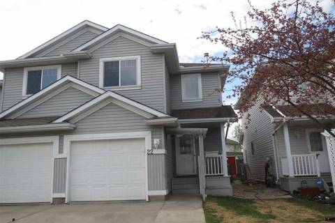 Townhouse for sale at 13403 Cumberland Rd Nw Edmonton Alberta - MLS: E4144259