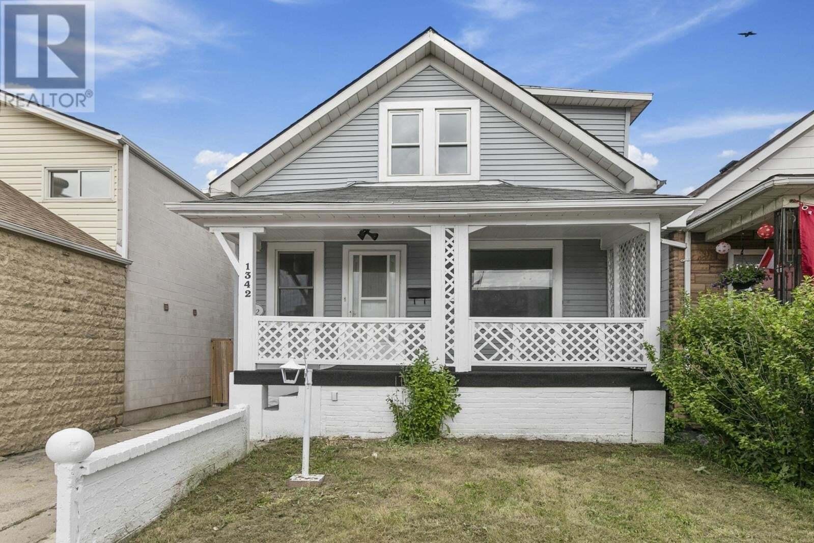 House for sale at 1342 Drouillard  Windsor Ontario - MLS: 20007859