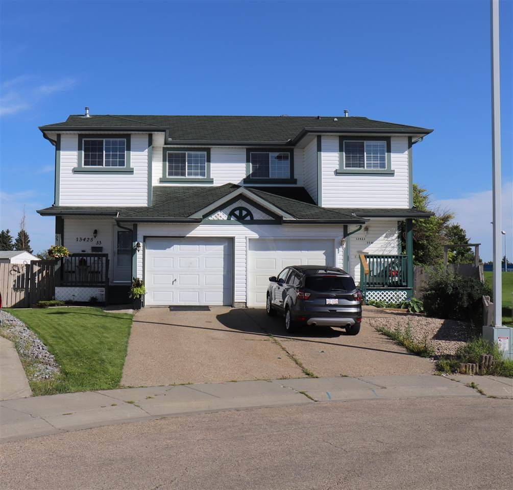 Townhouse for sale at 13425 33 St Nw Edmonton Alberta - MLS: E4178010