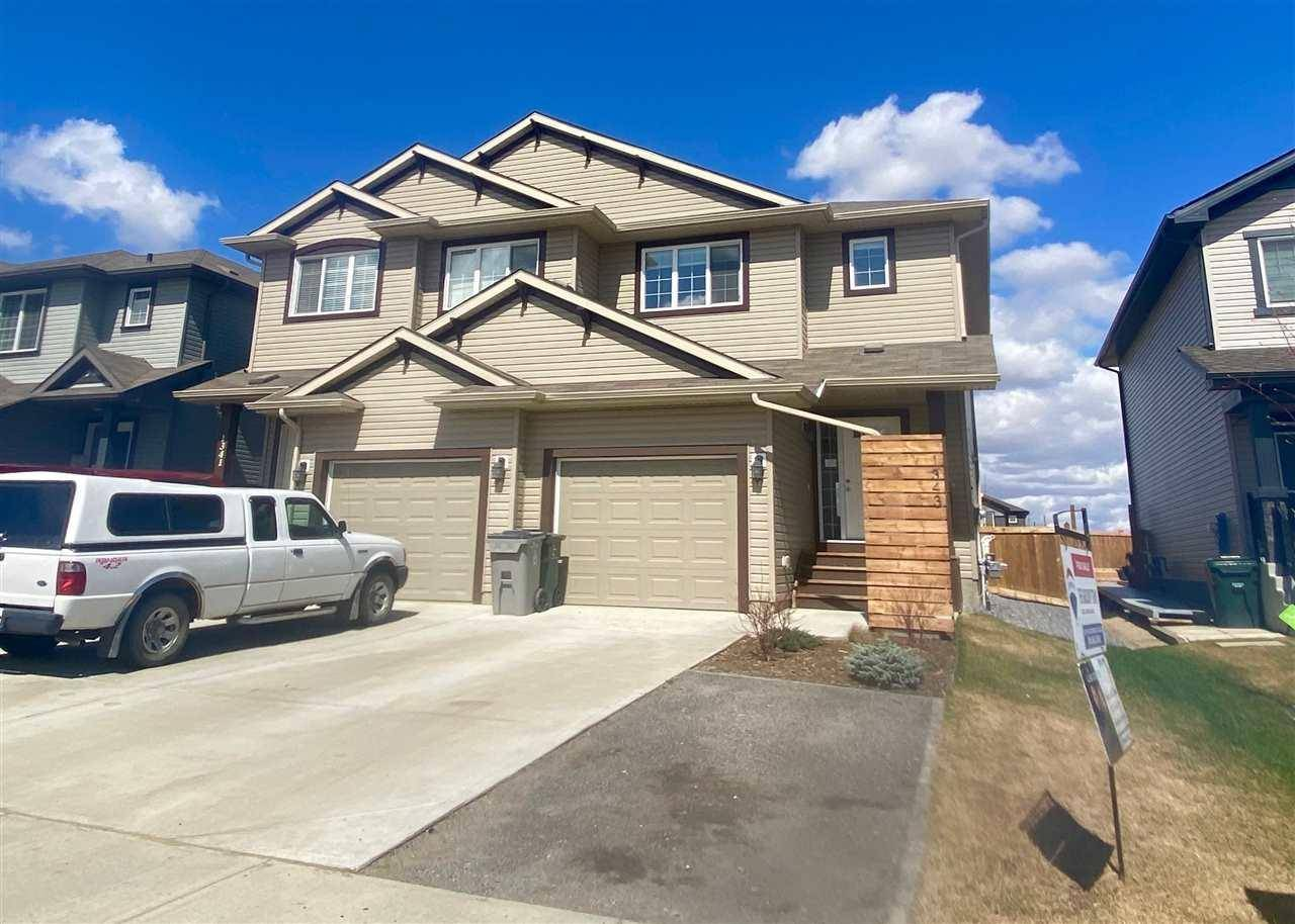 Townhouse for sale at 1343 Creek Li South Stony Plain Alberta - MLS: E4191306