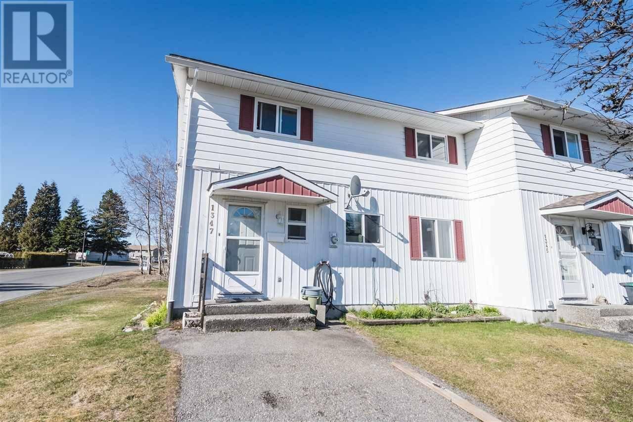 Townhouse for sale at 1347 Tweedsmuir Ave Kitimat British Columbia - MLS: R2449395
