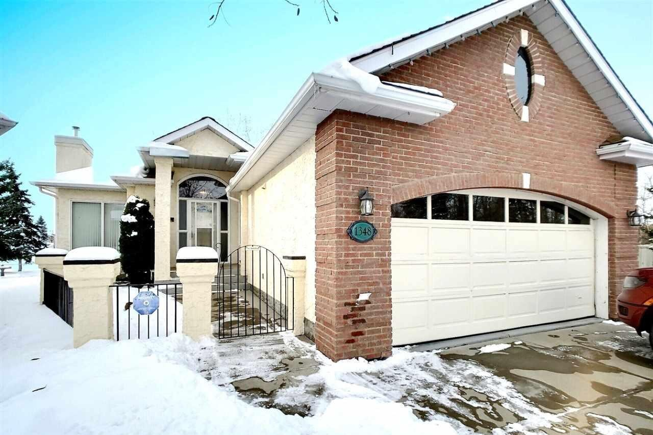 Townhouse for sale at 1348 Potter Greens Dr NW Edmonton Alberta - MLS: E4221368
