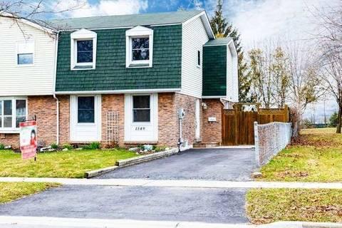 Townhouse for sale at 1349 Fenelon Cres Oshawa Ontario - MLS: E4737558