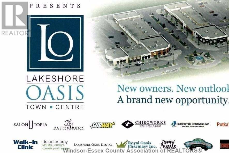 Commercial property for lease at 486 Advance  Apartment 135 Lakeshore Ontario - MLS: 20009756