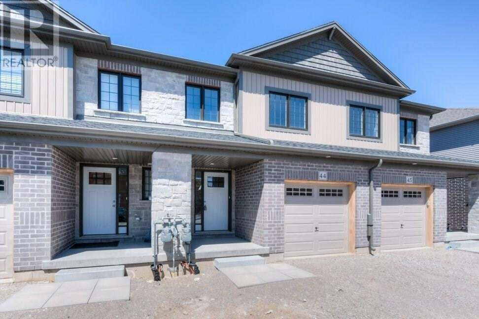 Townhouse for sale at 135 Hardcastle Dr Cambridge Ontario - MLS: 30808556