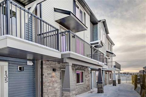 Townhouse for sale at 135 Legacy Point(e) Southeast Calgary Alberta - MLS: C4294845