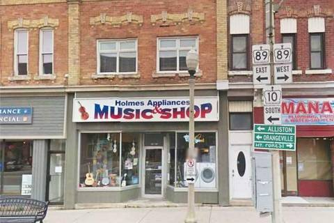 Commercial property for sale at 135 Main St Shelburne Ontario - MLS: X4430005