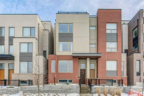 Townhouse for sale at 135 Stanley Greene Blvd Toronto Ontario - MLS: W4753957