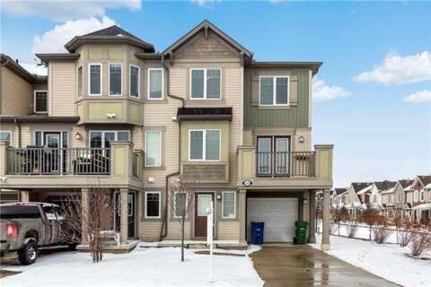 Townhouse for sale at 135 Windstone Cres Southwest Airdrie Alberta - MLS: C4292188