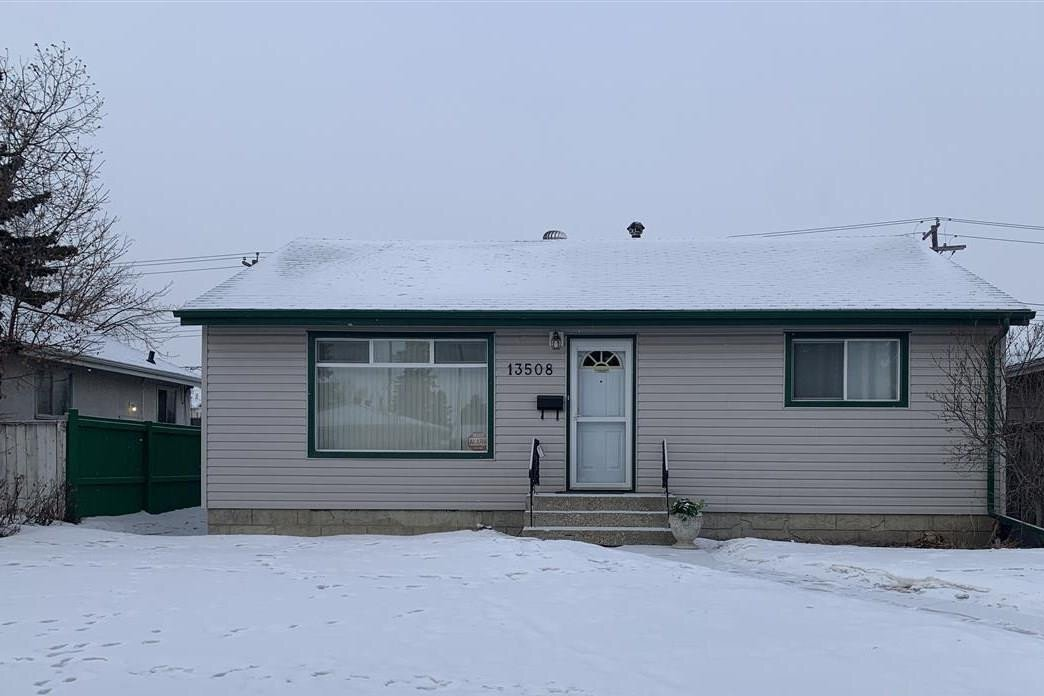 House for sale at 13508 123a St NW Edmonton Alberta - MLS: E4219362