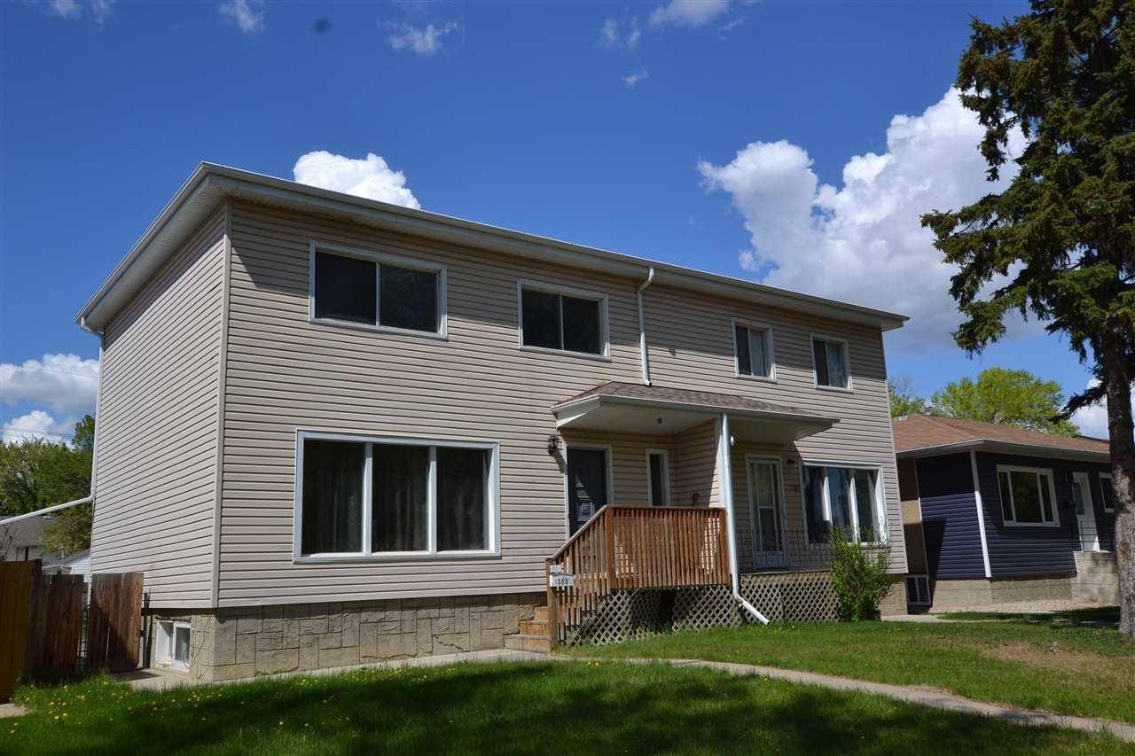 Townhouse for sale at 13532 Woodcroft Ave Nw Unit 13530 Edmonton Alberta - MLS: E4158998