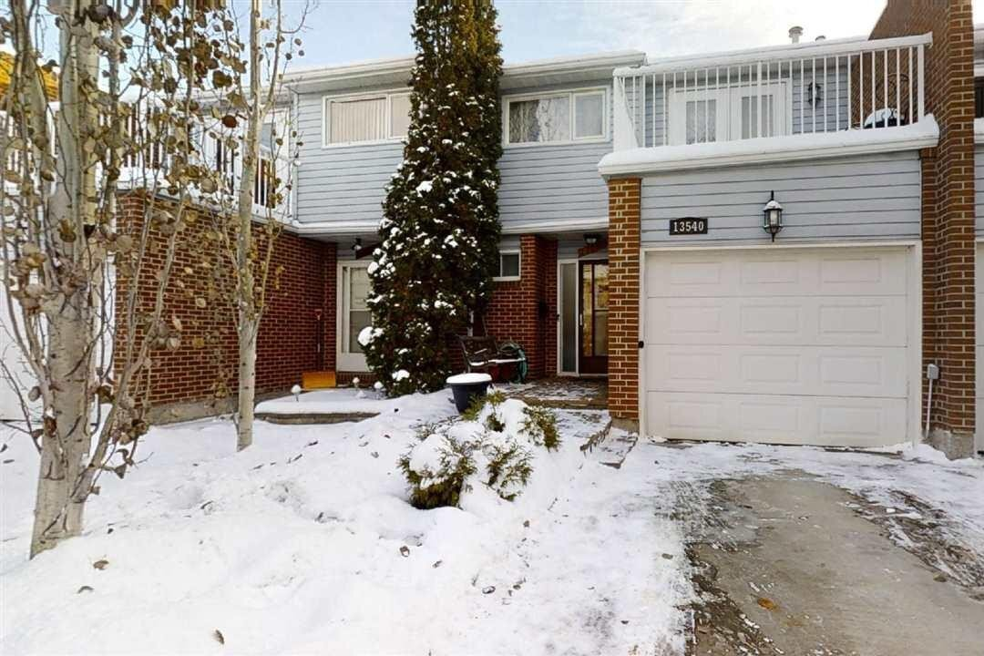 Townhouse for sale at 13540 38 St NW Edmonton Alberta - MLS: E4221997