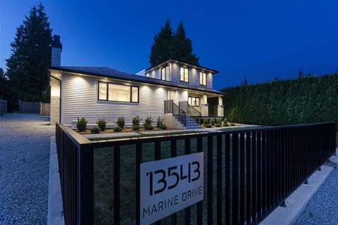 House for sale at 13543 Marine Dr Surrey British Columbia - MLS: R2396558