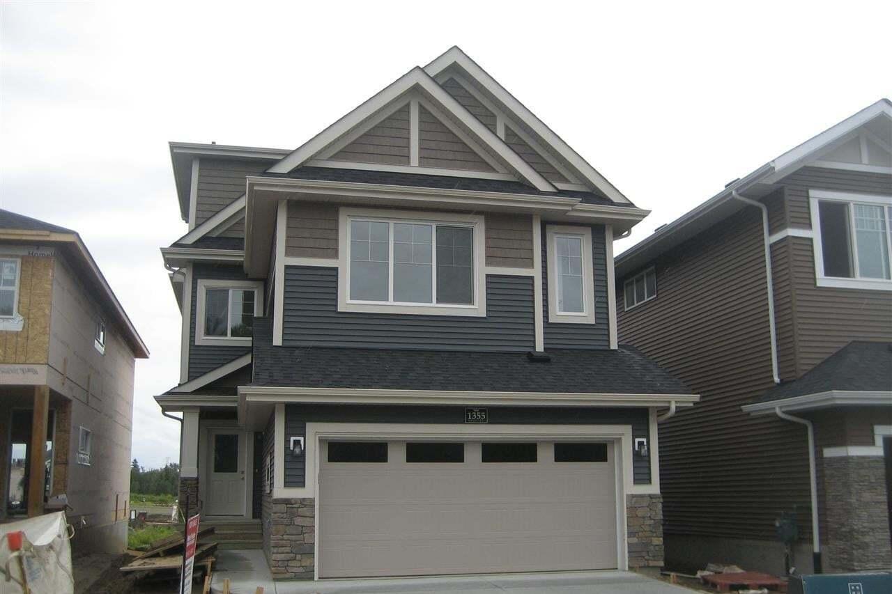 House for sale at 1355 Enright Ld NW Edmonton Alberta - MLS: E4190061