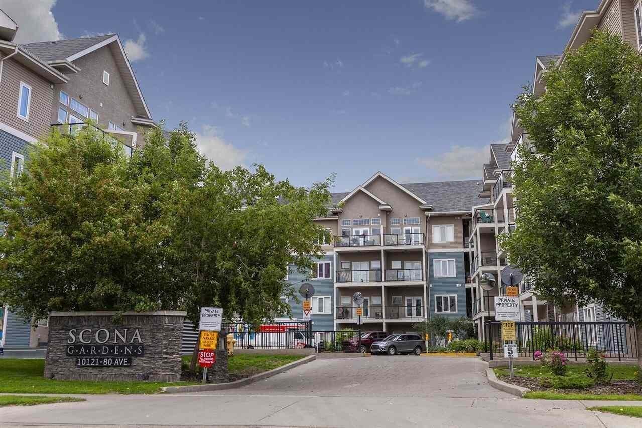 Condo for sale at 10121 80 Av NW Unit 136 Edmonton Alberta - MLS: E4207158