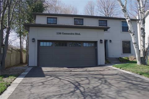 House for sale at 136 Cassandra Blvd Toronto Ontario - MLS: C4428170
