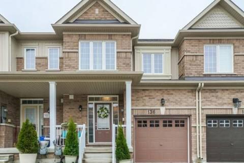 Townhouse for sale at 136 Matthewson Ave Bradford West Gwillimbury Ontario - MLS: N4481232