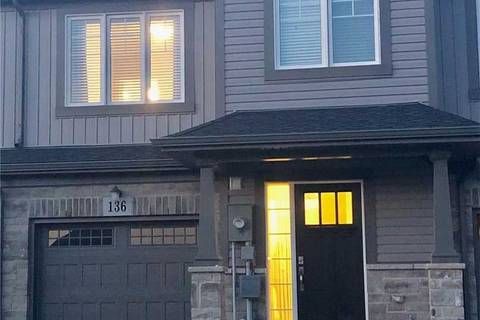 Townhouse for sale at 136 Monarch St Welland Ontario - MLS: X4582831
