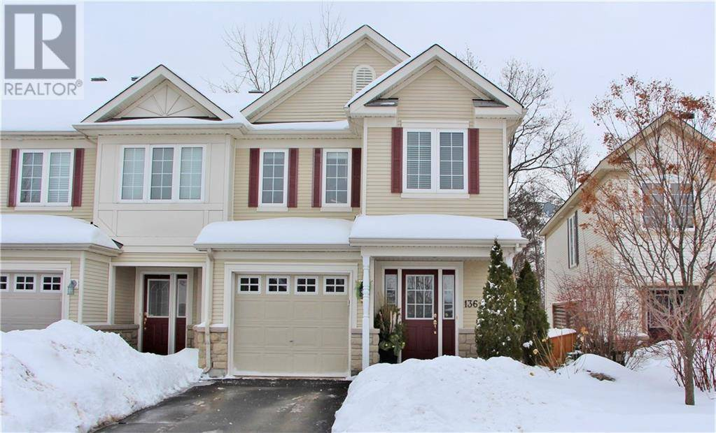 Townhouse for sale at 136 Rustwood Pt Ottawa Ontario - MLS: 1182342