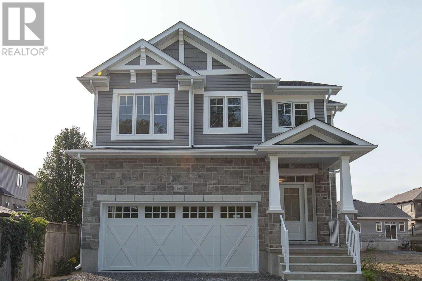 House for sale at 1363 Andersen Dr Kingston Ontario - MLS: K20005283