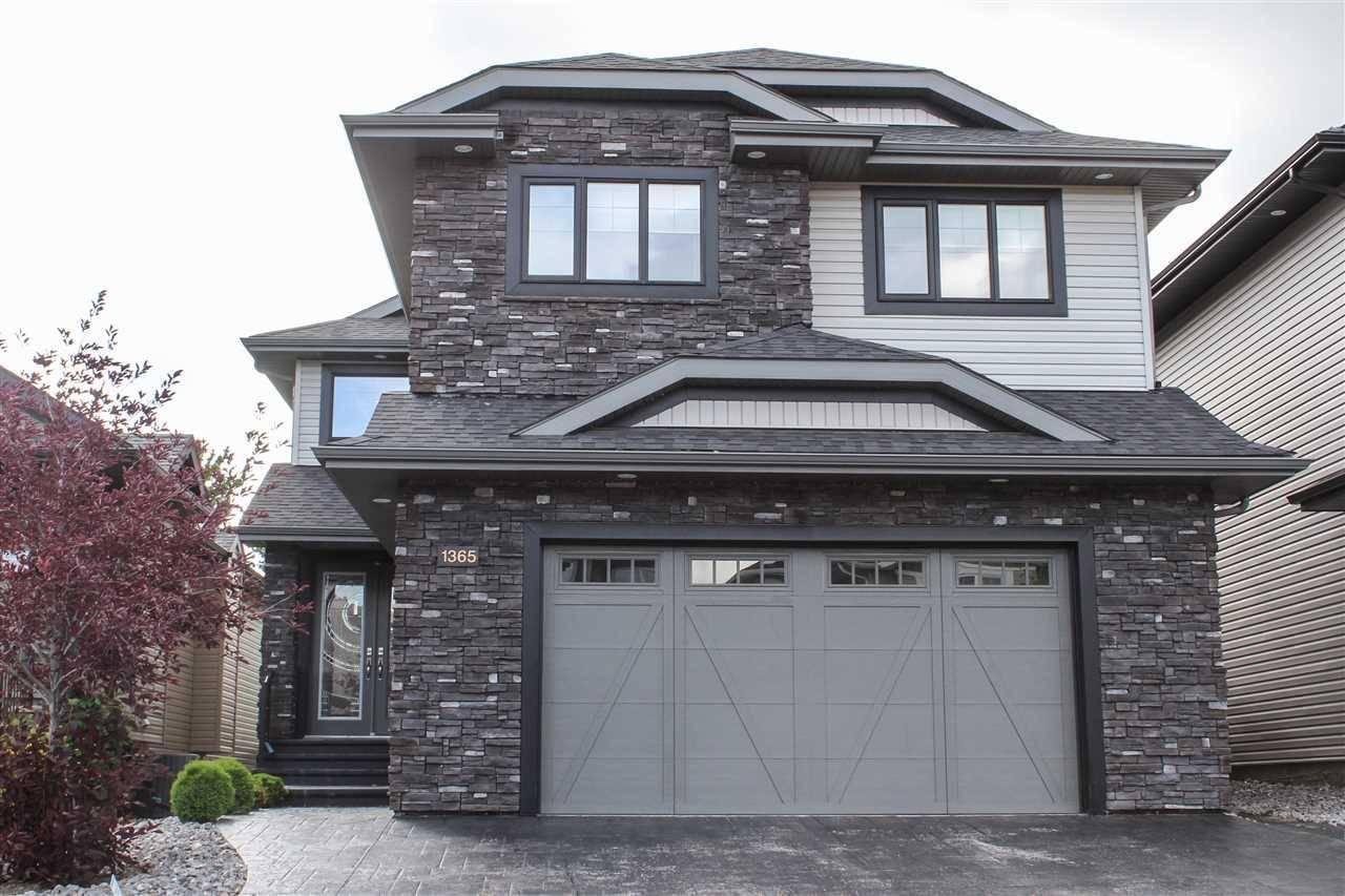 House for sale at 1365 Cunningham Dr Sw Edmonton Alberta - MLS: E4149829