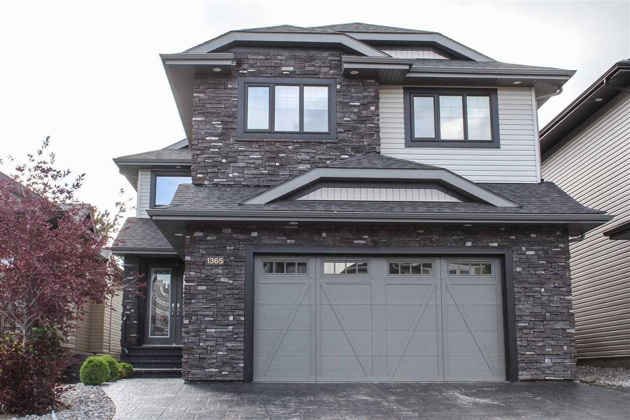 House for sale at 1365 Cunningham Dr Sw Edmonton Alberta - MLS: E4179017