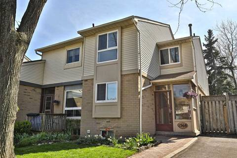 Townhouse for sale at 1368 Edwards Ct Oakville Ontario - MLS: W4421440