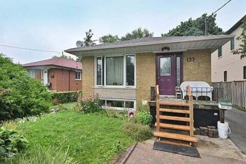 House for sale at 137 Bellamy Rd Toronto Ontario - MLS: E4855897