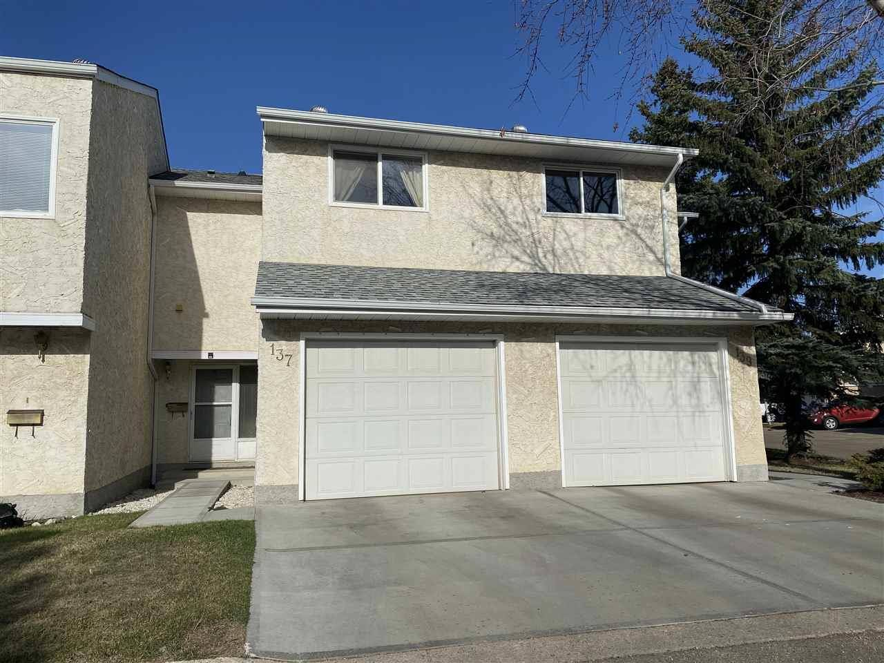 Townhouse for sale at 137 Callingwood Pl Nw Edmonton Alberta - MLS: E4188418