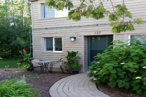 Townhouse for rent at 137 Escarpment Cres Collingwood Ontario - MLS: 194912