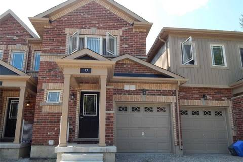 Townhouse for sale at 137 Holgate St Barrie Ontario - MLS: S4507440