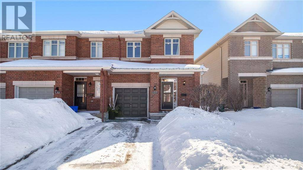 Townhouse for sale at 137 Jersey Tea Circ Ottawa Ontario - MLS: 1182962