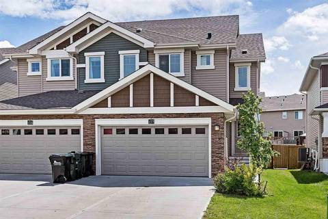 Townhouse for sale at 137 Summerstone Ln Sherwood Park Alberta - MLS: E4161307